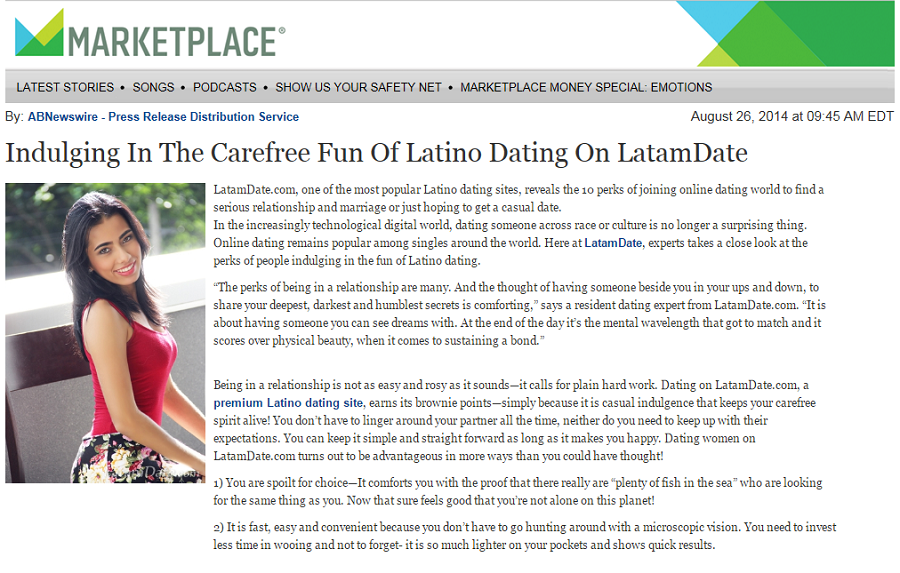 Dating-site für latino